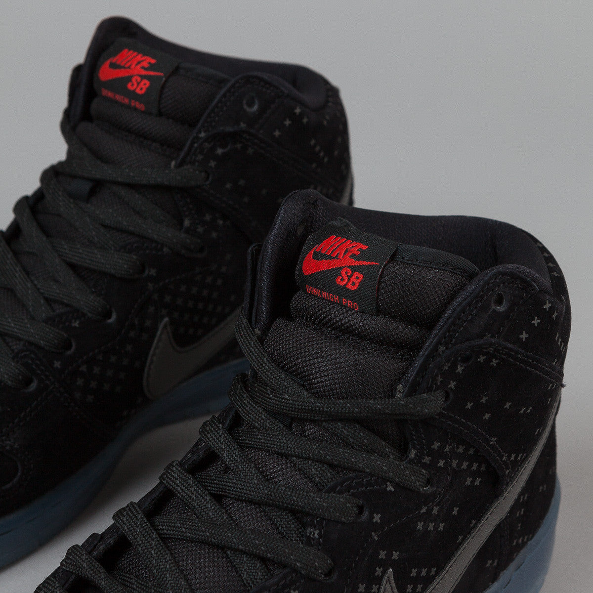 Nike SB Dunk High Premium Flash - Black / Black - Clear