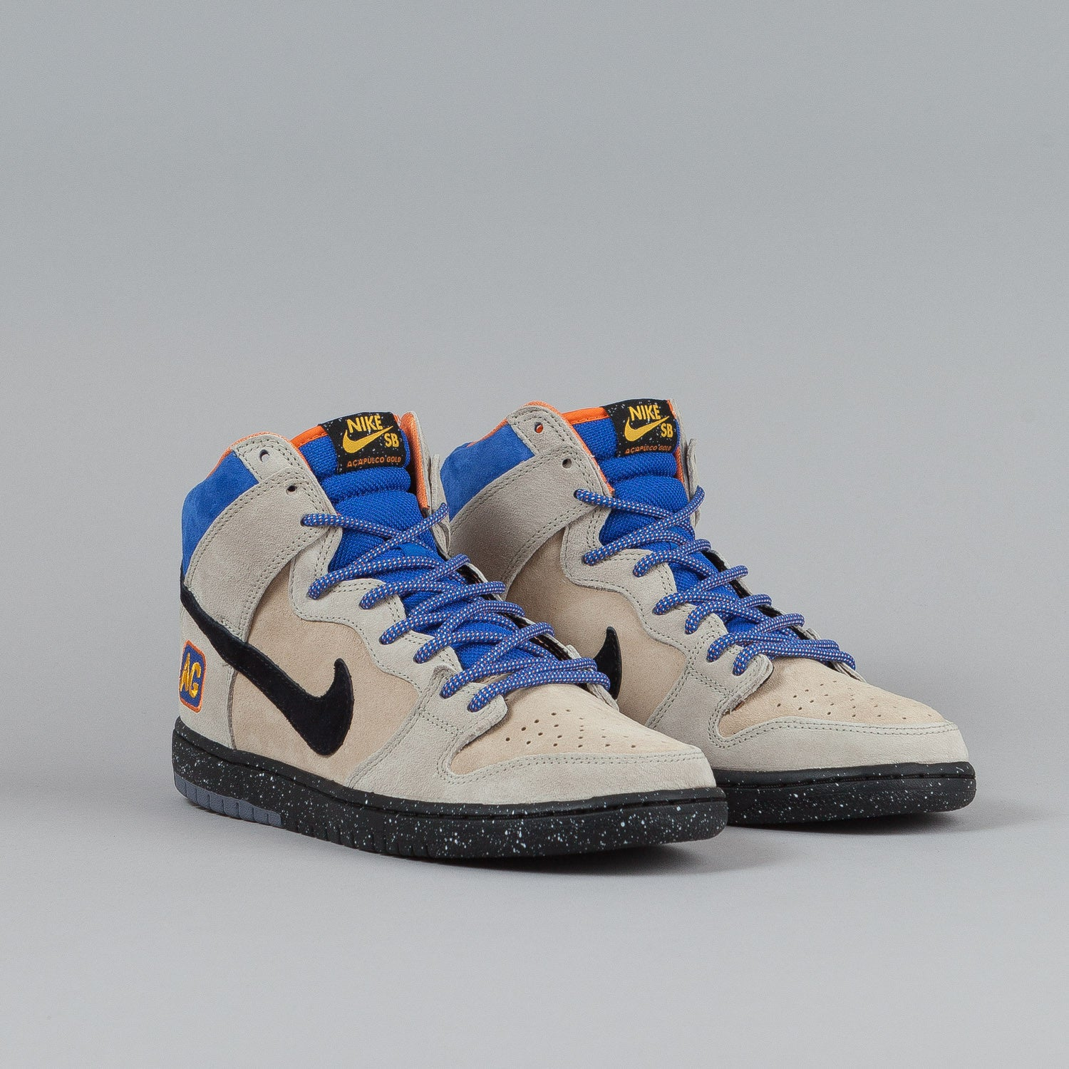 "Nike SB Dunk High Premium Grain / Black - Acapulco Gold ""Mowabb"""