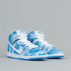 Nike SB Dunk High Pro Shoes - University Blue / White - University Blue
