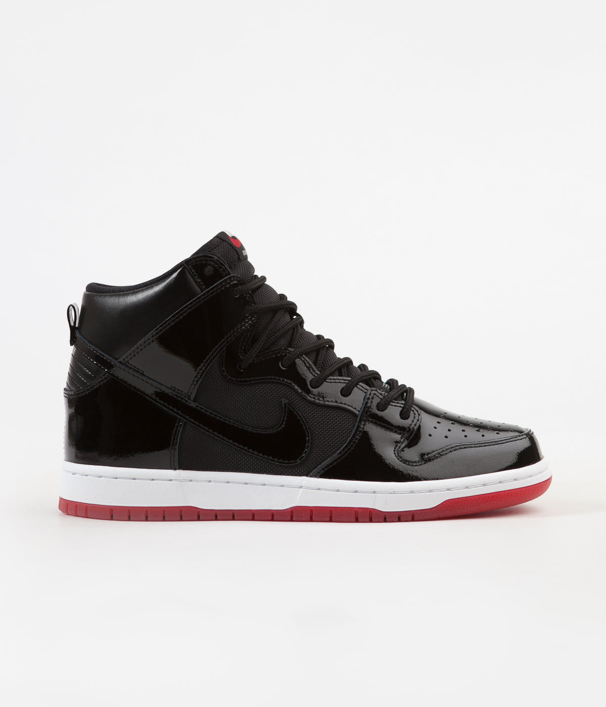 buy popular 7cf7c 04efd Nike SB Dunk High TR Shoes - Black / Black - White - Varsity ...