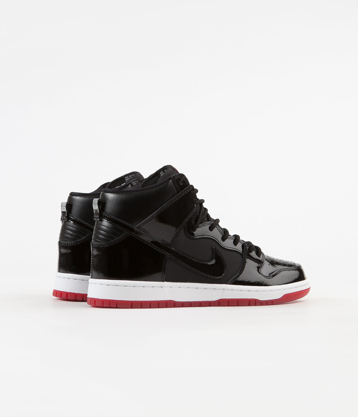 buy popular 87e59 6911a Nike SB Dunk High TR Shoes - Black / Black - White - Varsity ...