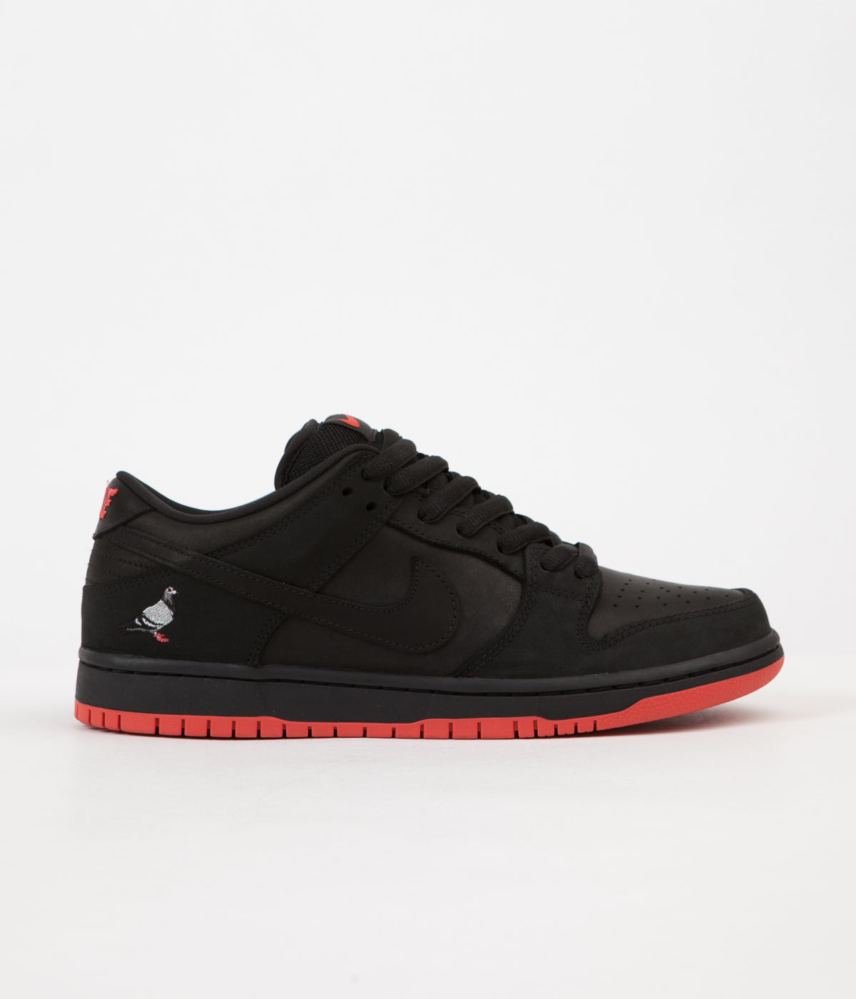 21215f689d2a Nike SB Dunk Low  Black Pigeon  Shoes - Black   Black - Sienna ...