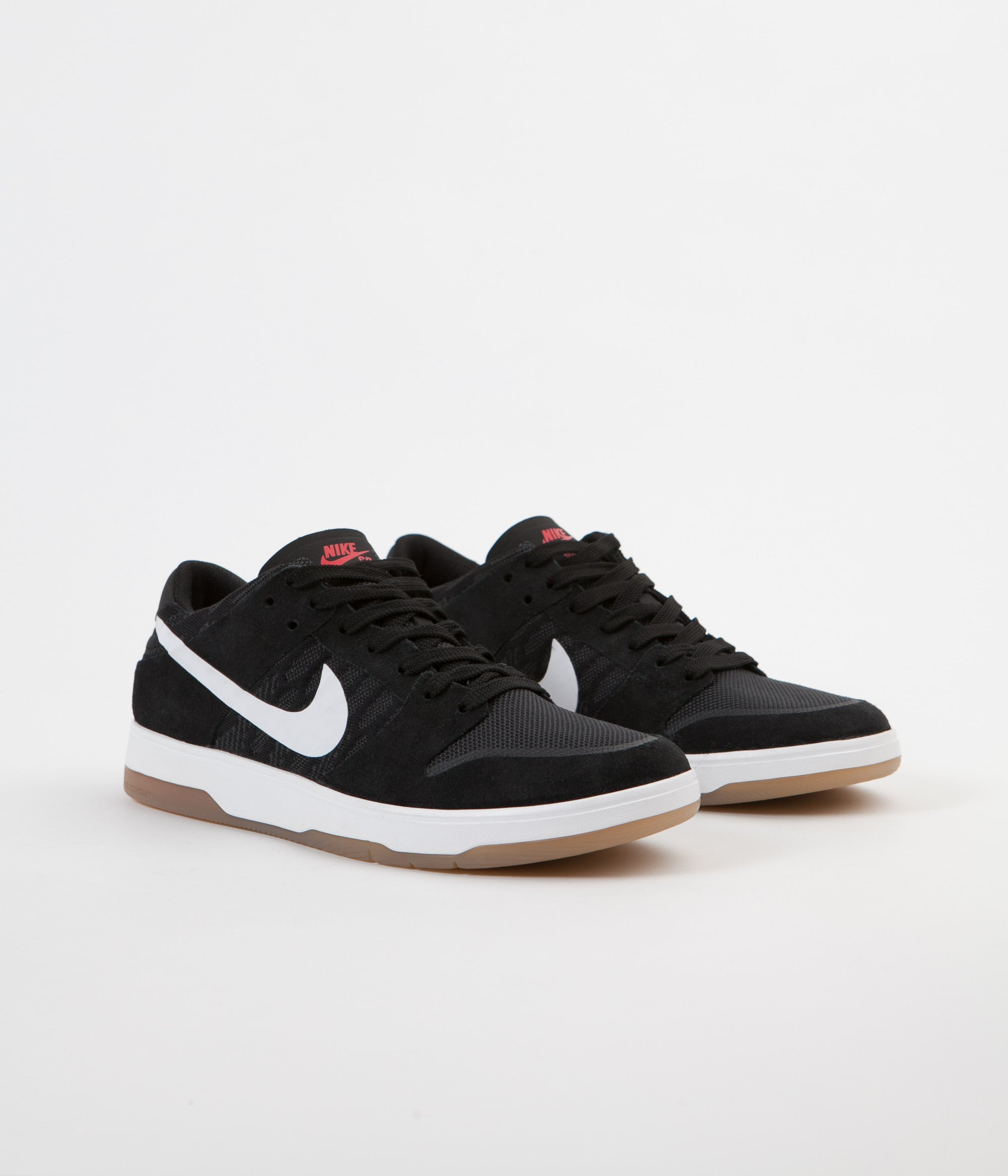 online retailer 2e6fa 8a43a Nike SB Dunk Low Elite Shoes - Black / White - Gum Light ...