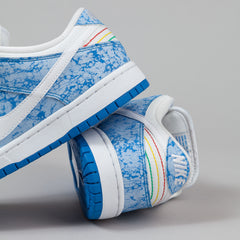 Nike SB Dunk Low Premium Shoes - Light Photo Blue / White