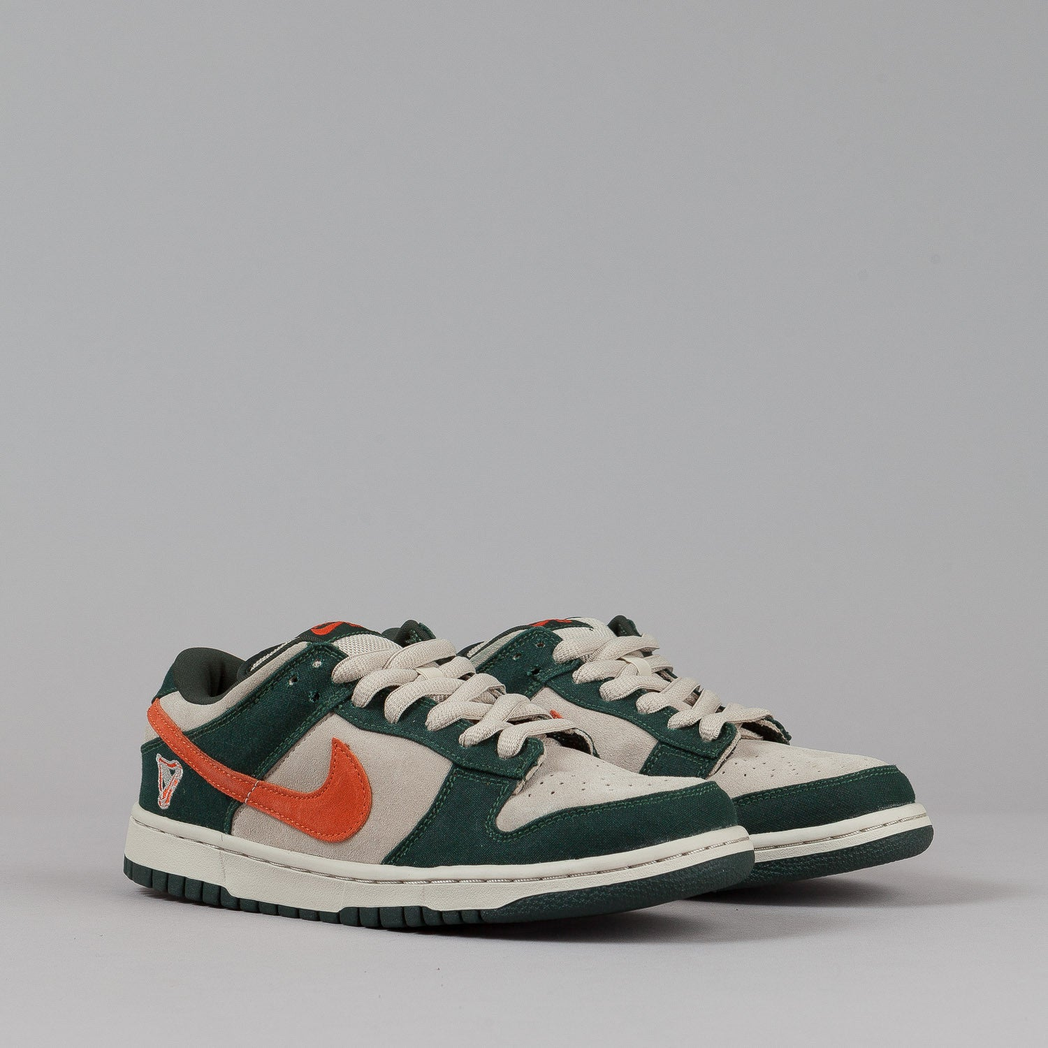 Nike SB Dunk Low Pro Shoes - Net / Deep Orange