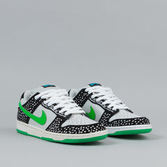 Nike SB Dunk Low Premium Shoes - Neutral Grey / Green Spark / Black