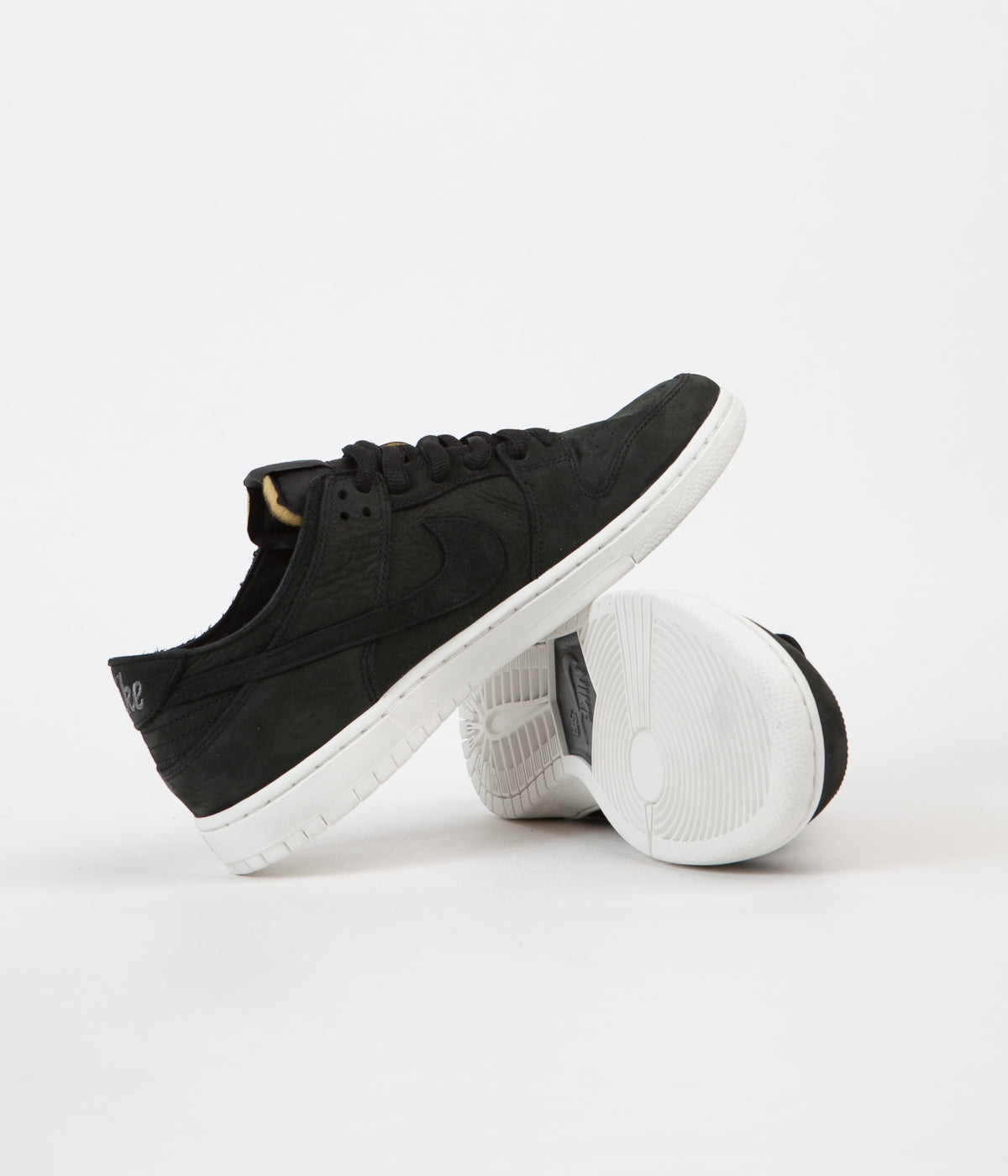a0c89a880a8e ... Nike SB Dunk Low Pro Deconstructed Shoes - Black   Black - Summit White  - Anthracite ...