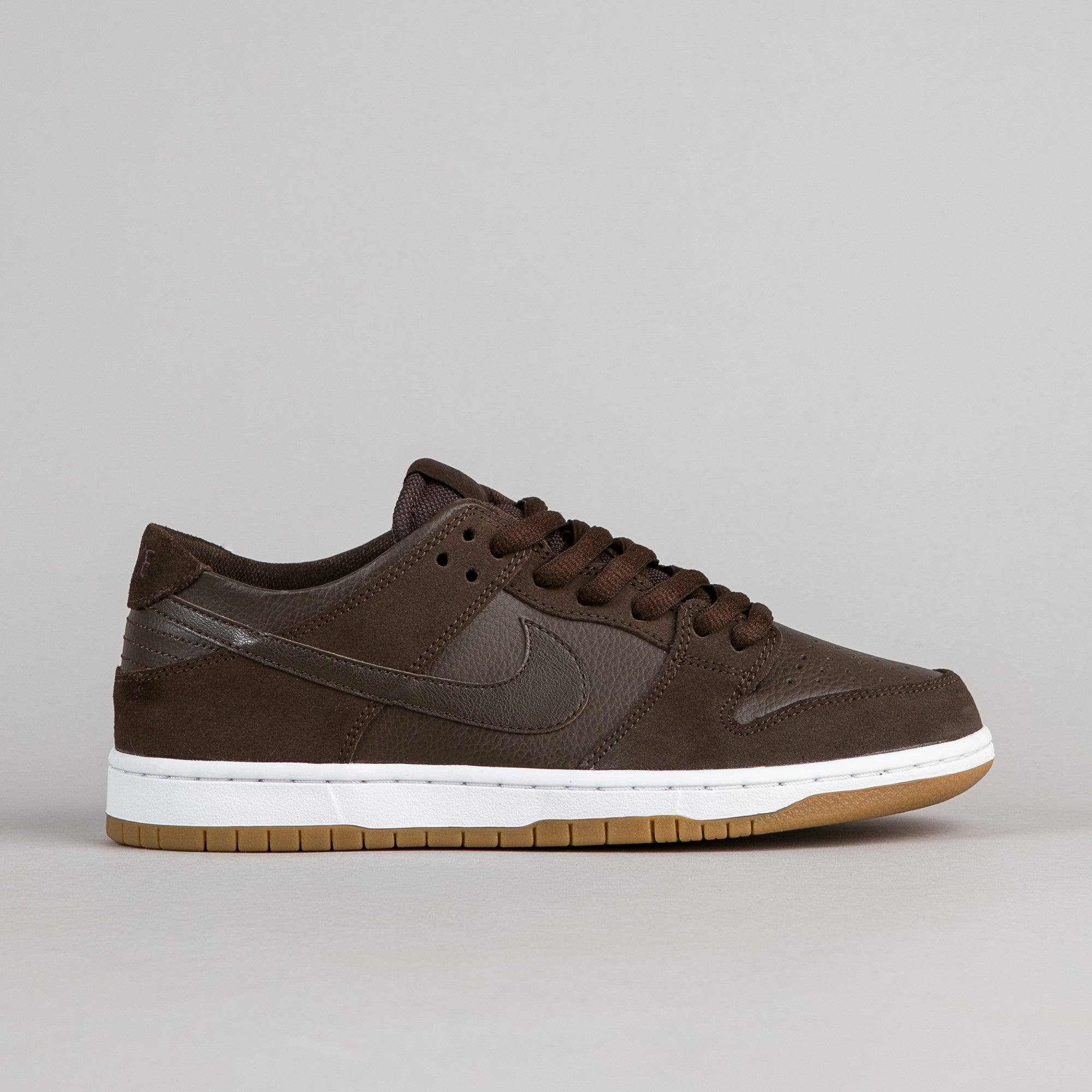 sports shoes 1bf26 93842 Nike SB Dunk Low Pro Ishod Wair Shoes - Baroque Brown   Baroque Brown -  White