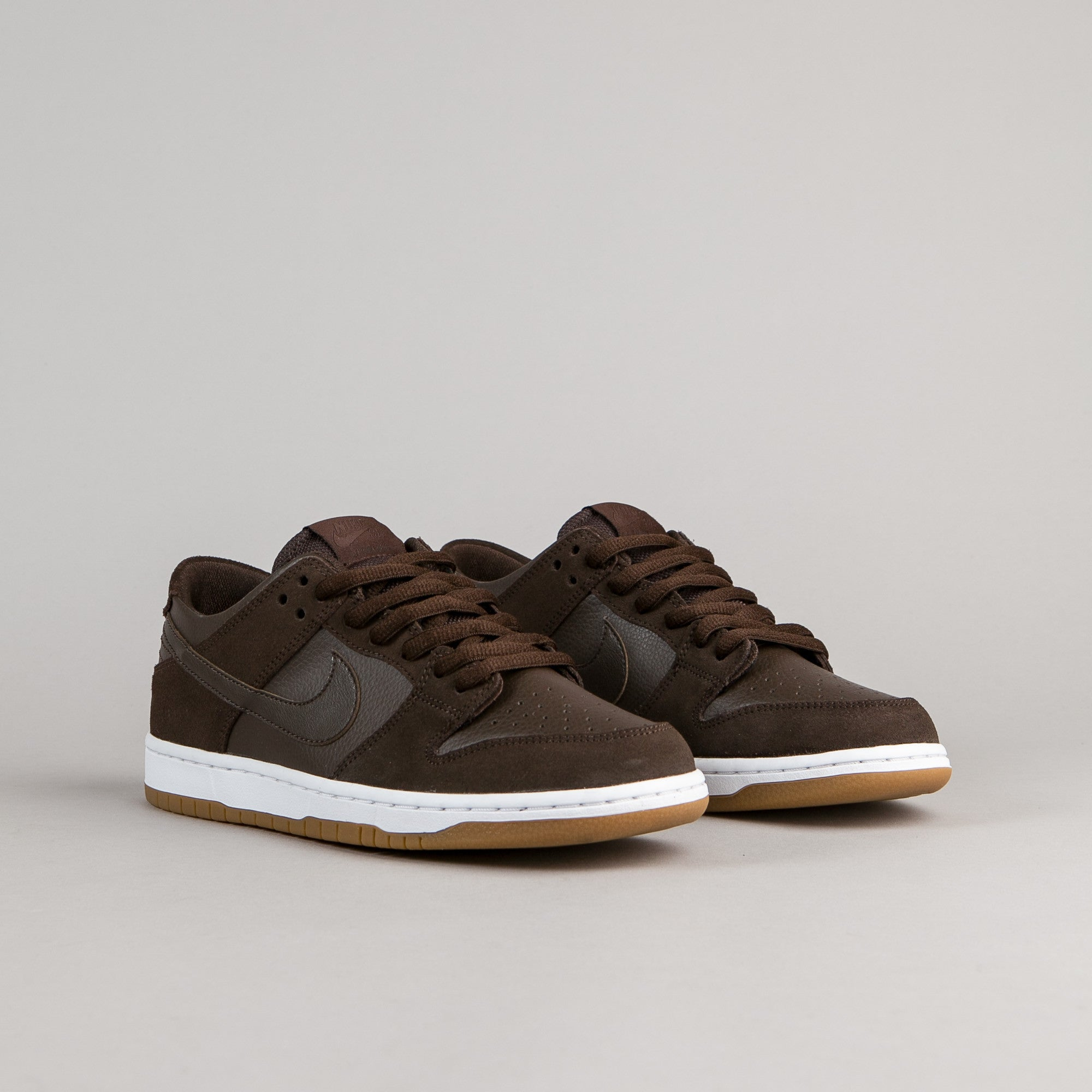 best service 493bb 15f3e ... Nike SB Dunk Low Pro Ishod Wair Shoes - Baroque Brown  Baroque Brown -  White ...