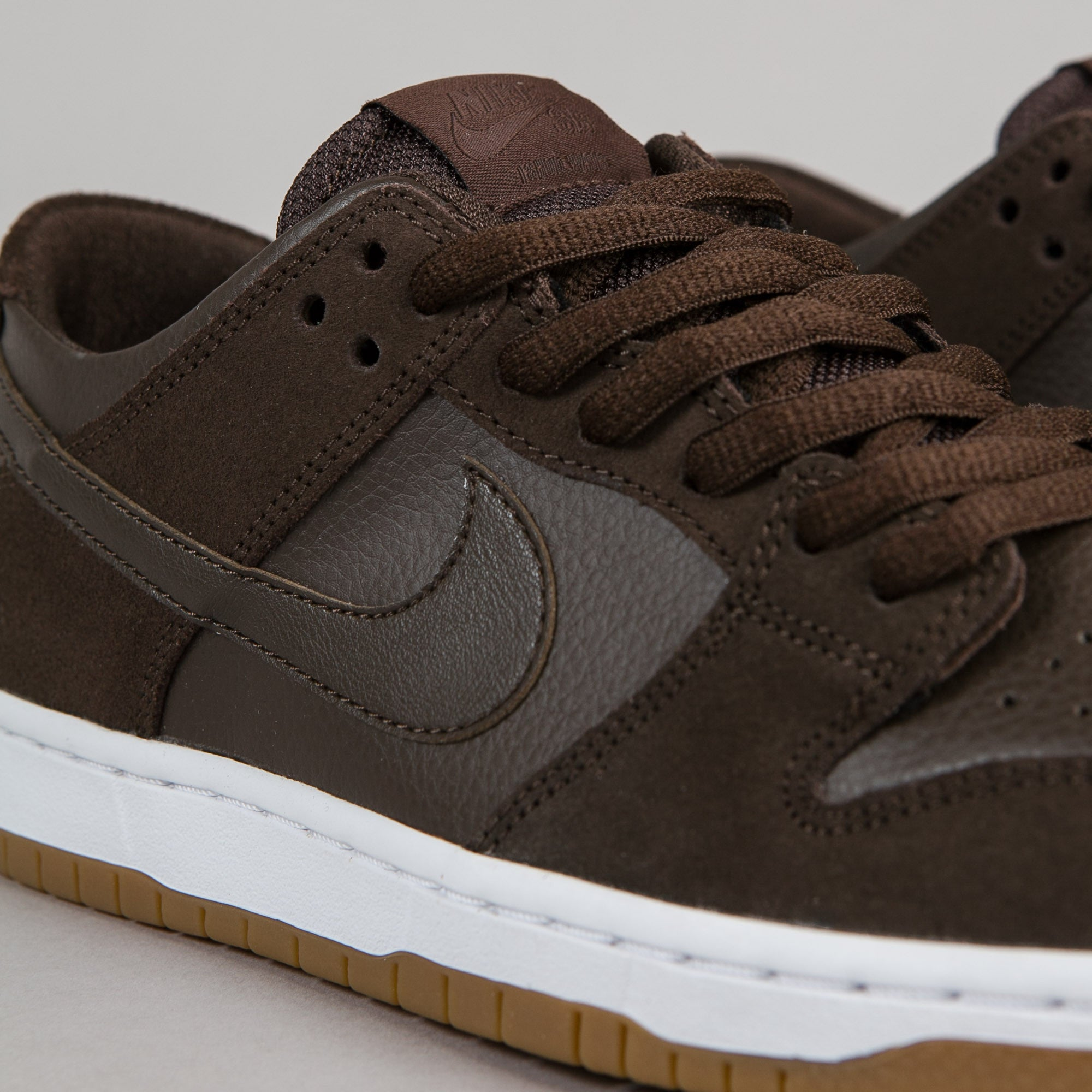 the latest 15f6e dd1a6 ... nike sb dunk low pro ishod wair shoes baroque brown baroque brown white