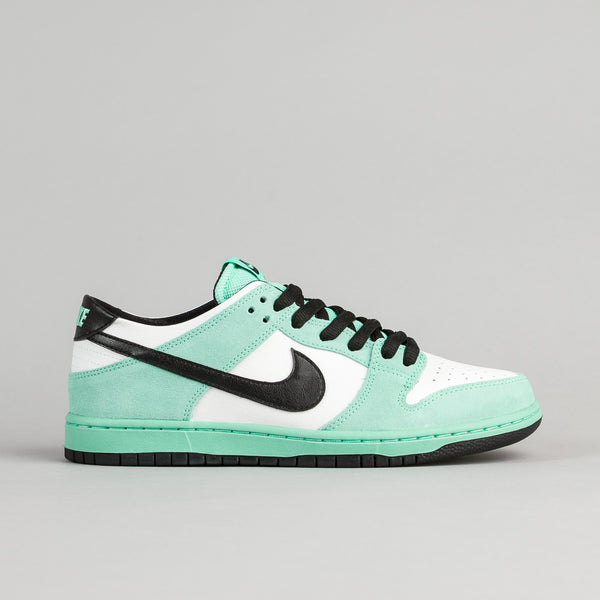 Nike SB Dunk Low Pro Ishod Wair Shoes - Green Glow / Black - Summit White