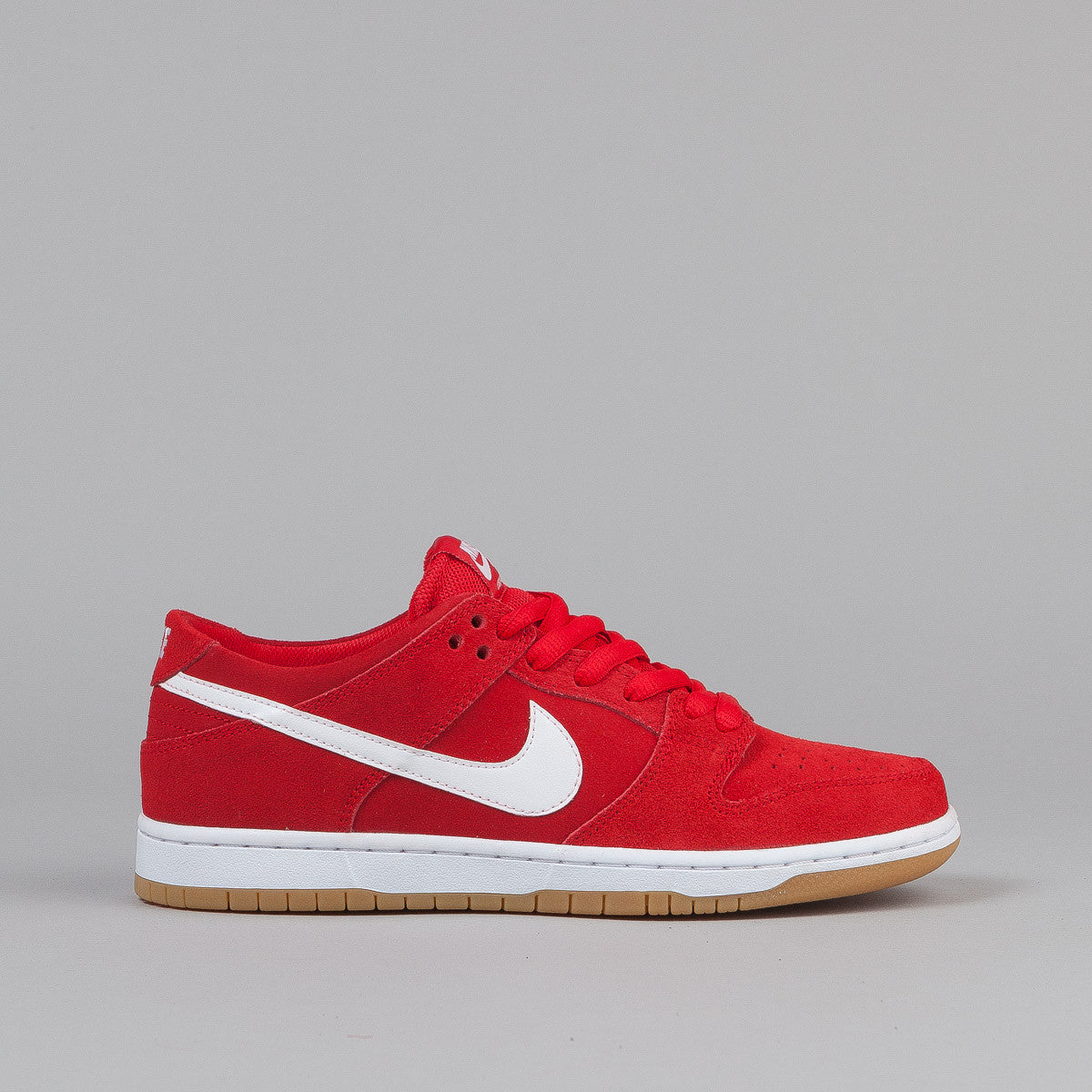 Nike SB Dunk Low Pro Ishod Wair Shoes - Red / White