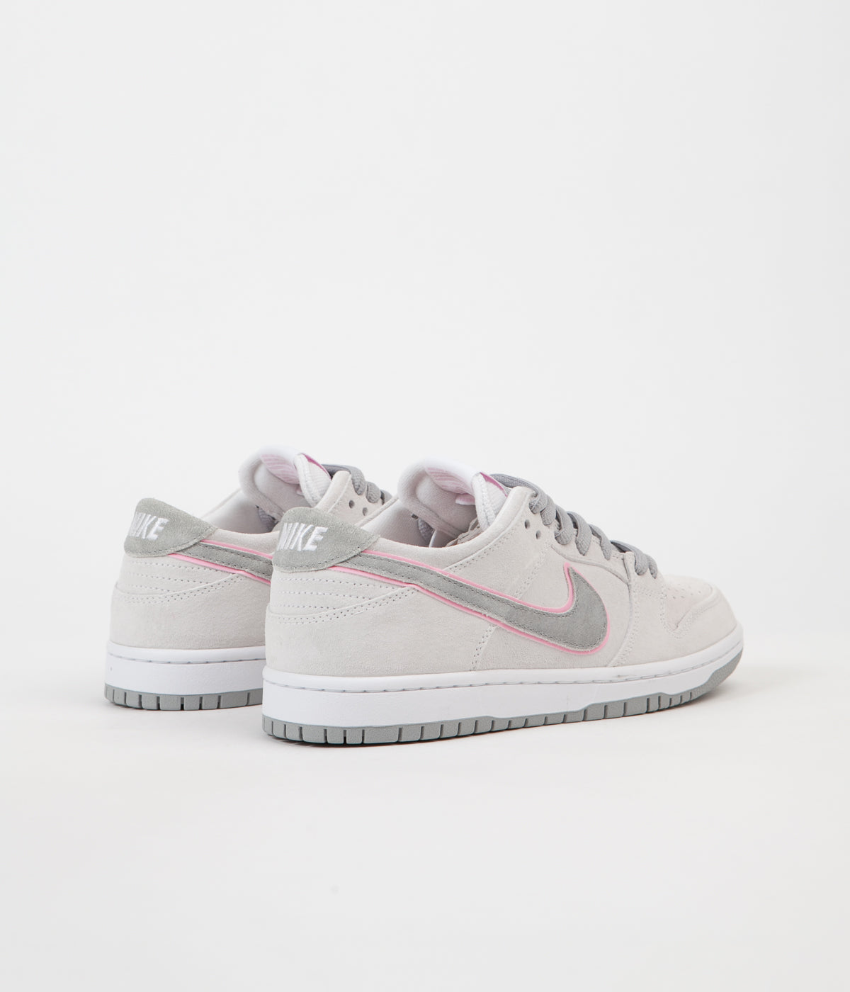 online store f5439 a4a94 Nike SB Dunk Low Pro Ishod Wair Shoes - White Perfect Pink ...