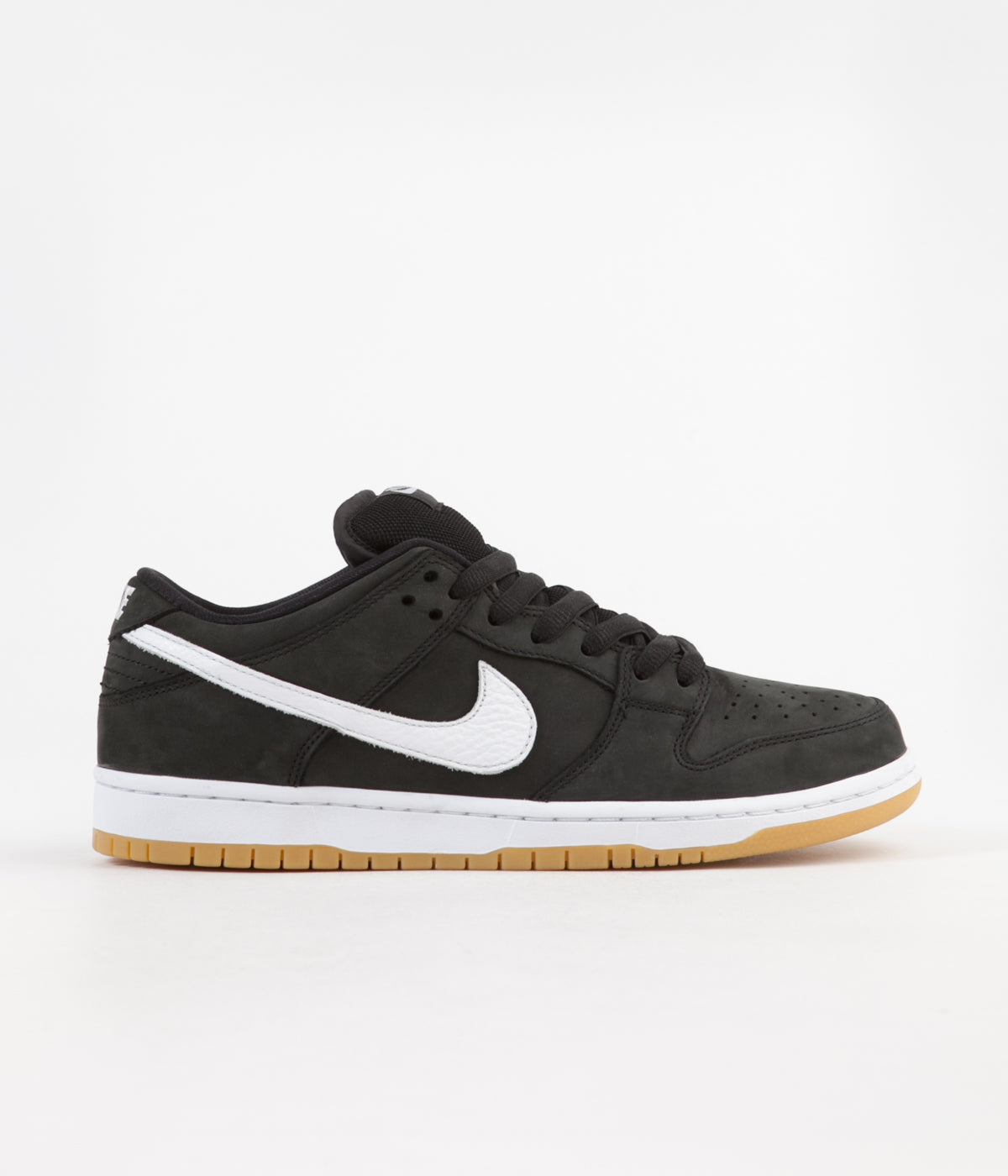 the latest 9af98 31bfc Nike SB Orange Label Dunk Low Pro Shoes - Black  White - Black