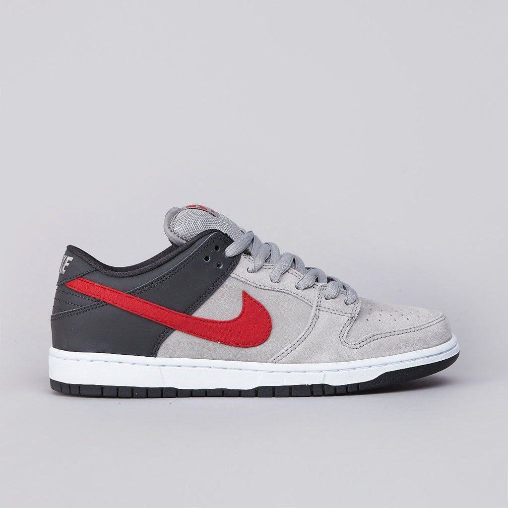 Nike Dunk Low Pro Medium Grey / University Red / Anthracite