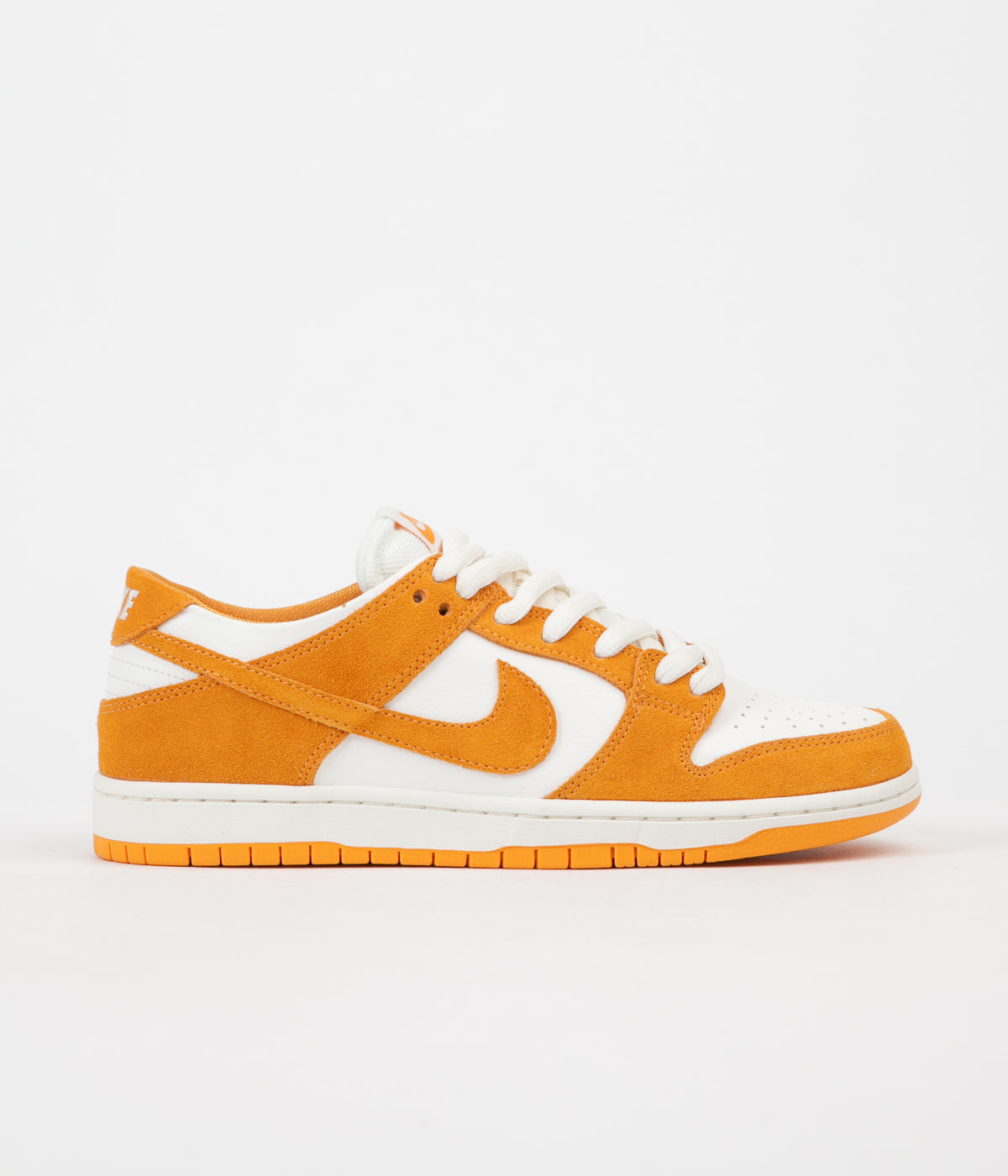 Nike SB Dunk Low Pro Shoes - Circuit Orange / Circuit Orange / Sail