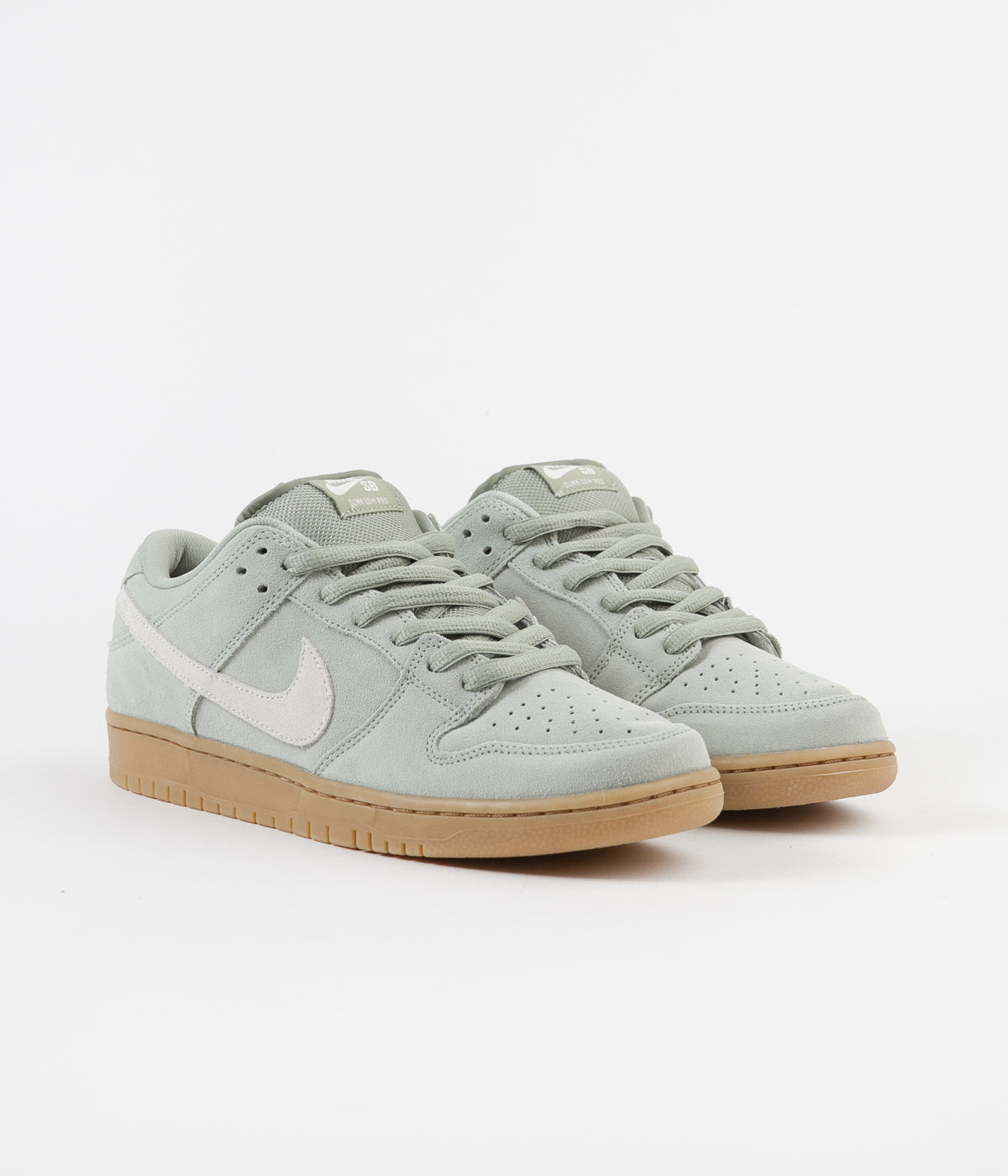 Nike SB Dunk Low Pro Shoes - Jade Horizon / Pale Ivory - Jade Horizon