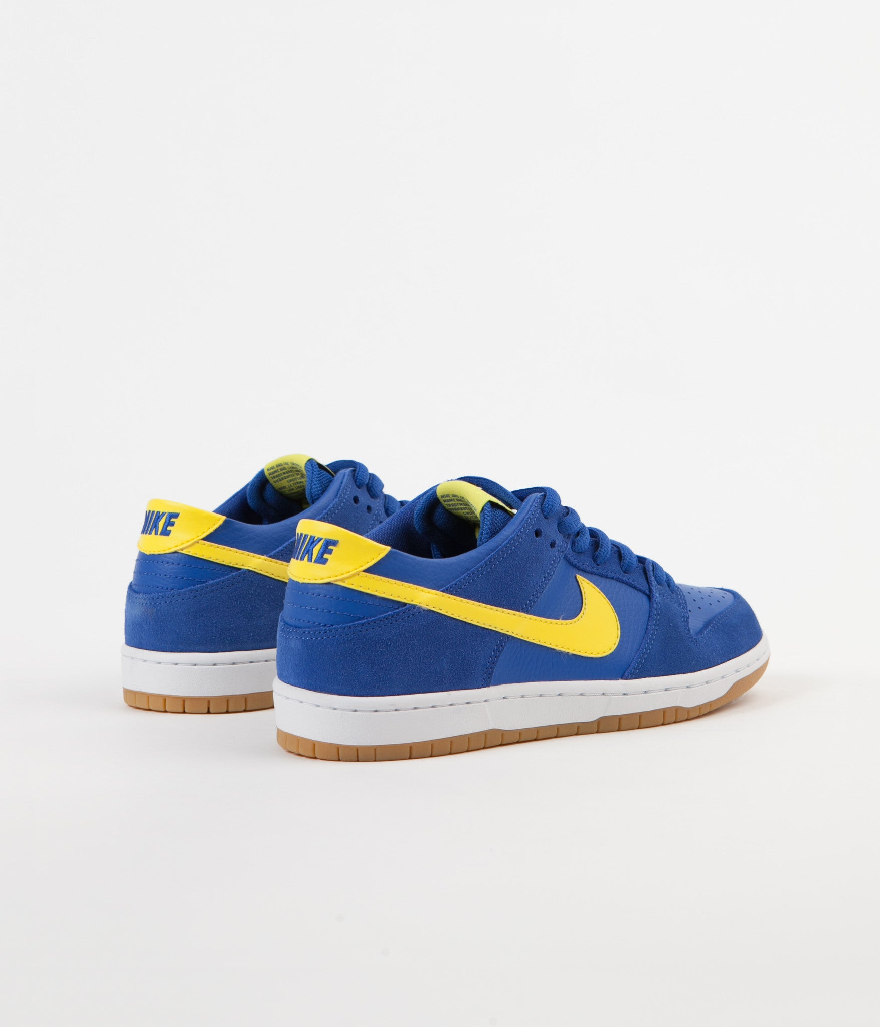 Nike SB Dunk Low Pro Shoes - Varsity Royal / Lightning - White
