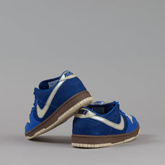 Nike SB Dunk Low Pro Shoes - Varsity Royal / Metallic Vegas Gold