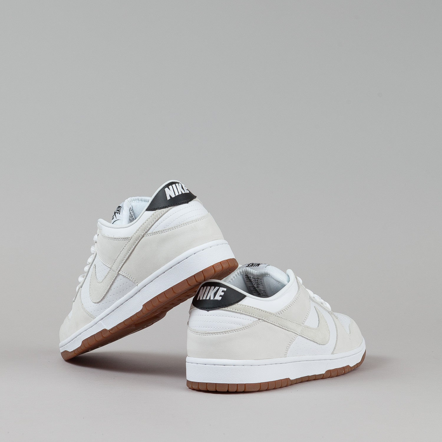Nike SB Dunk Low Premium Shoes - White / White