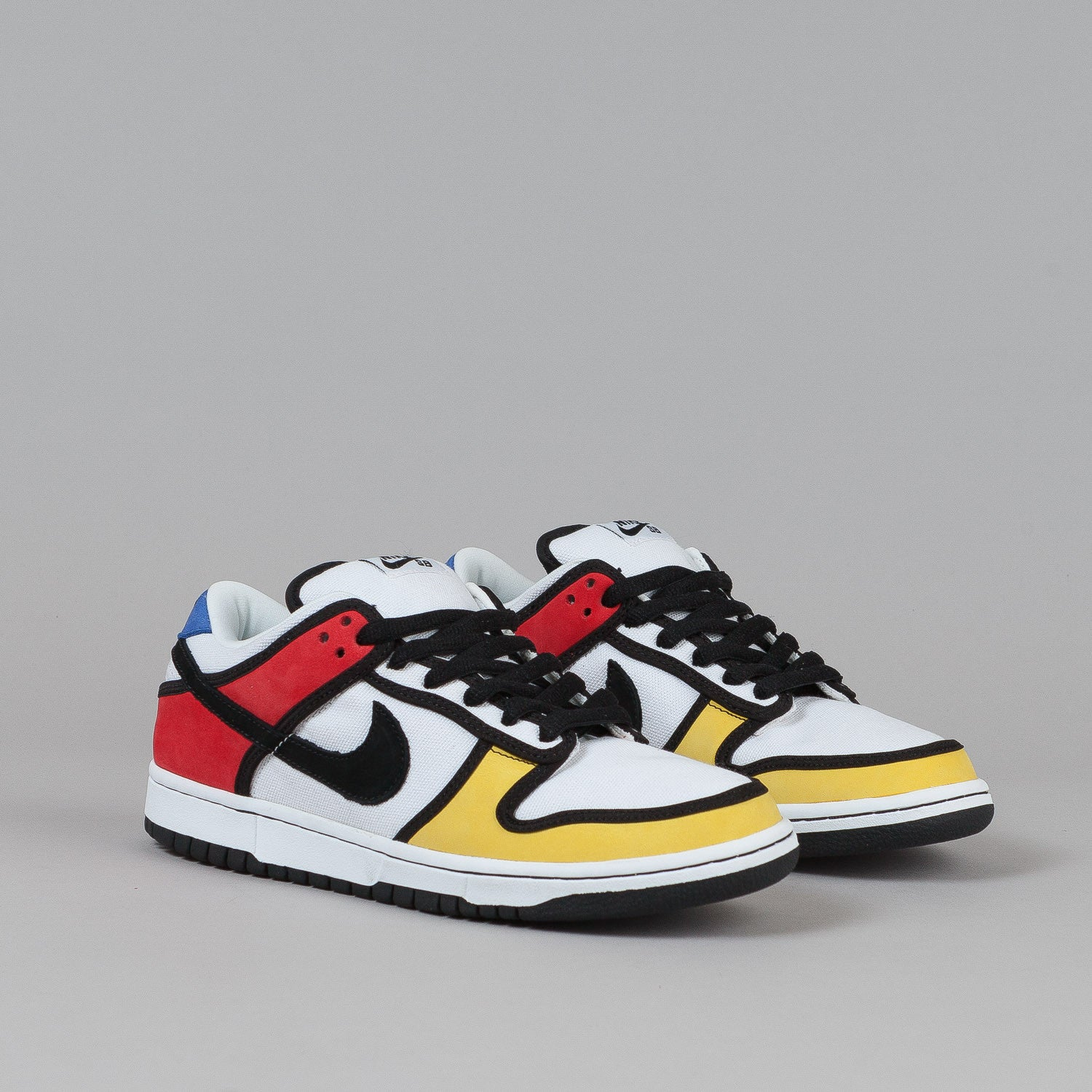 Nike SB Dunk Low Pro Shoes - Zest / Black