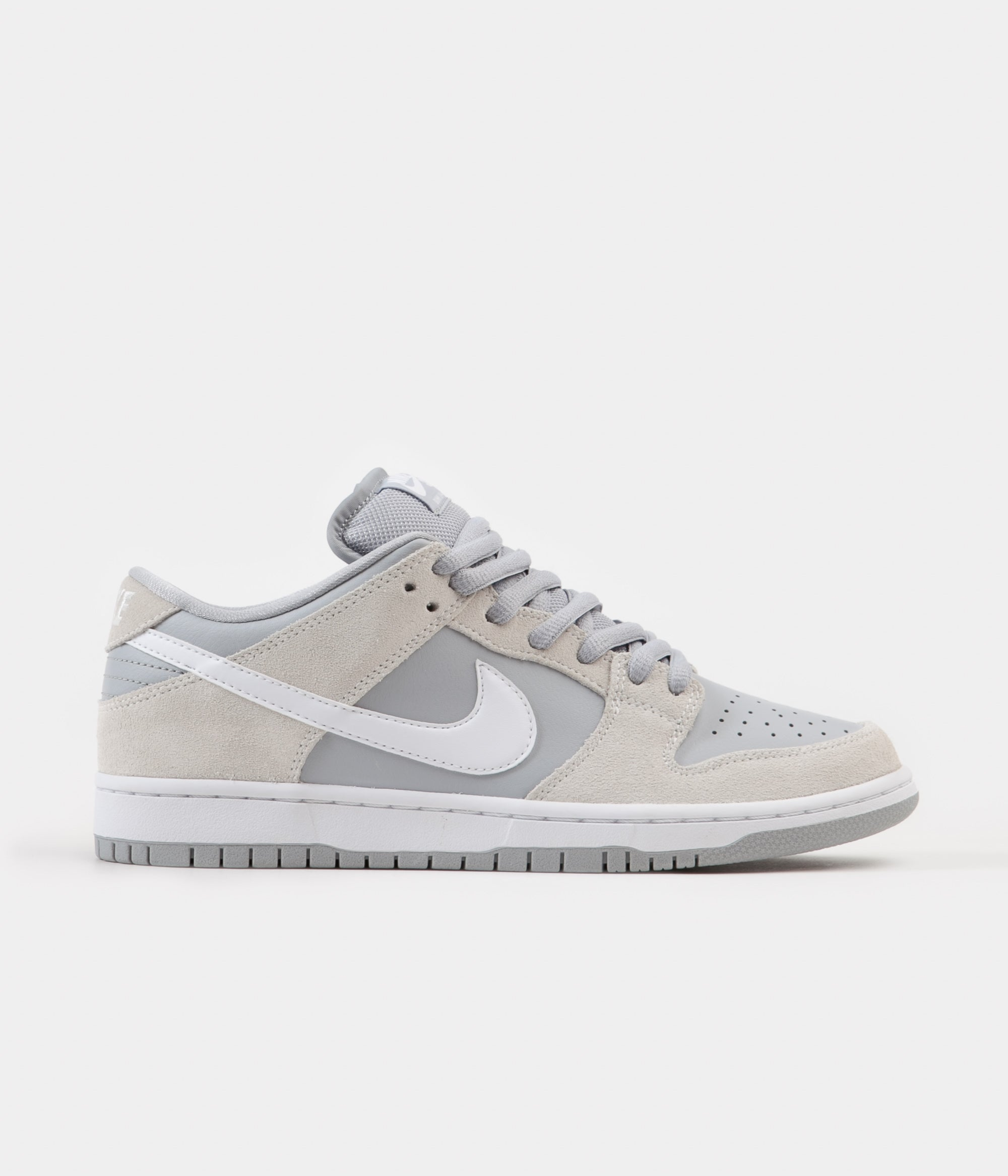 Nike SB Dunk Low TRD Shoes - Summit White   White - Wolf Grey - White 8f09f0046a0