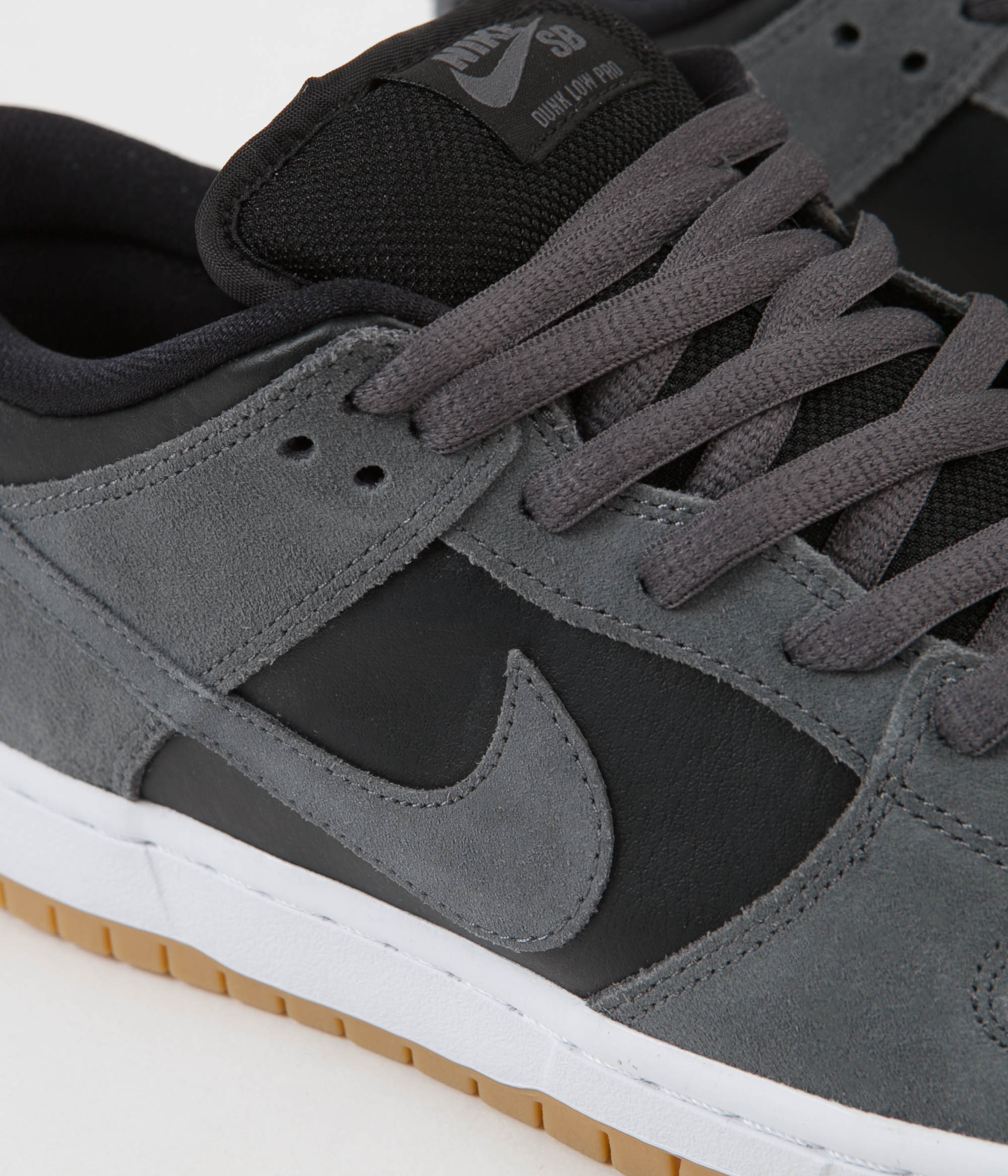 various colors 133b4 a9754 Nike SB Dunk Low TRD Shoes - Dark Grey / Dark Grey - Black ...