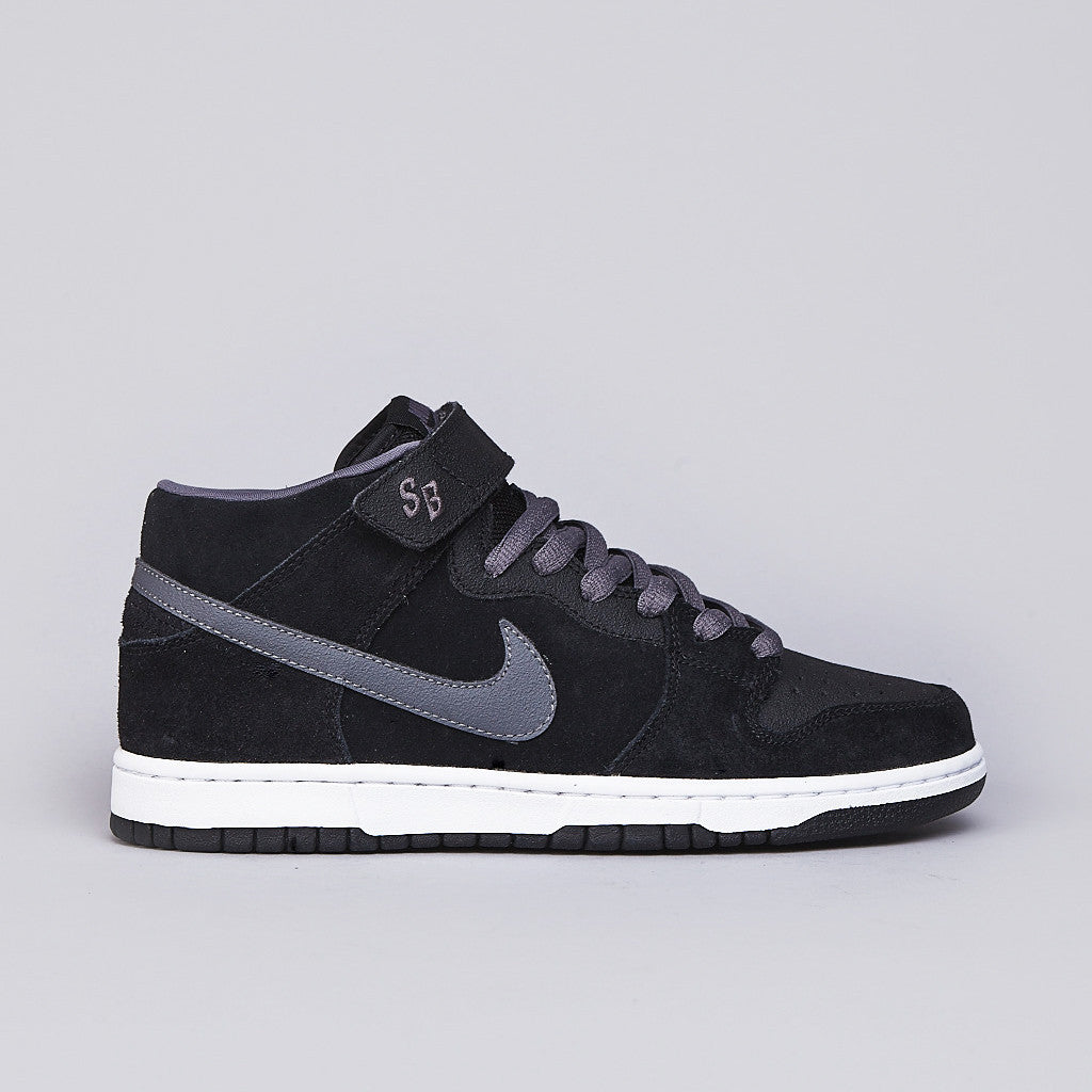 Nike SB Dunk Mid Pro Black / Light Graphite