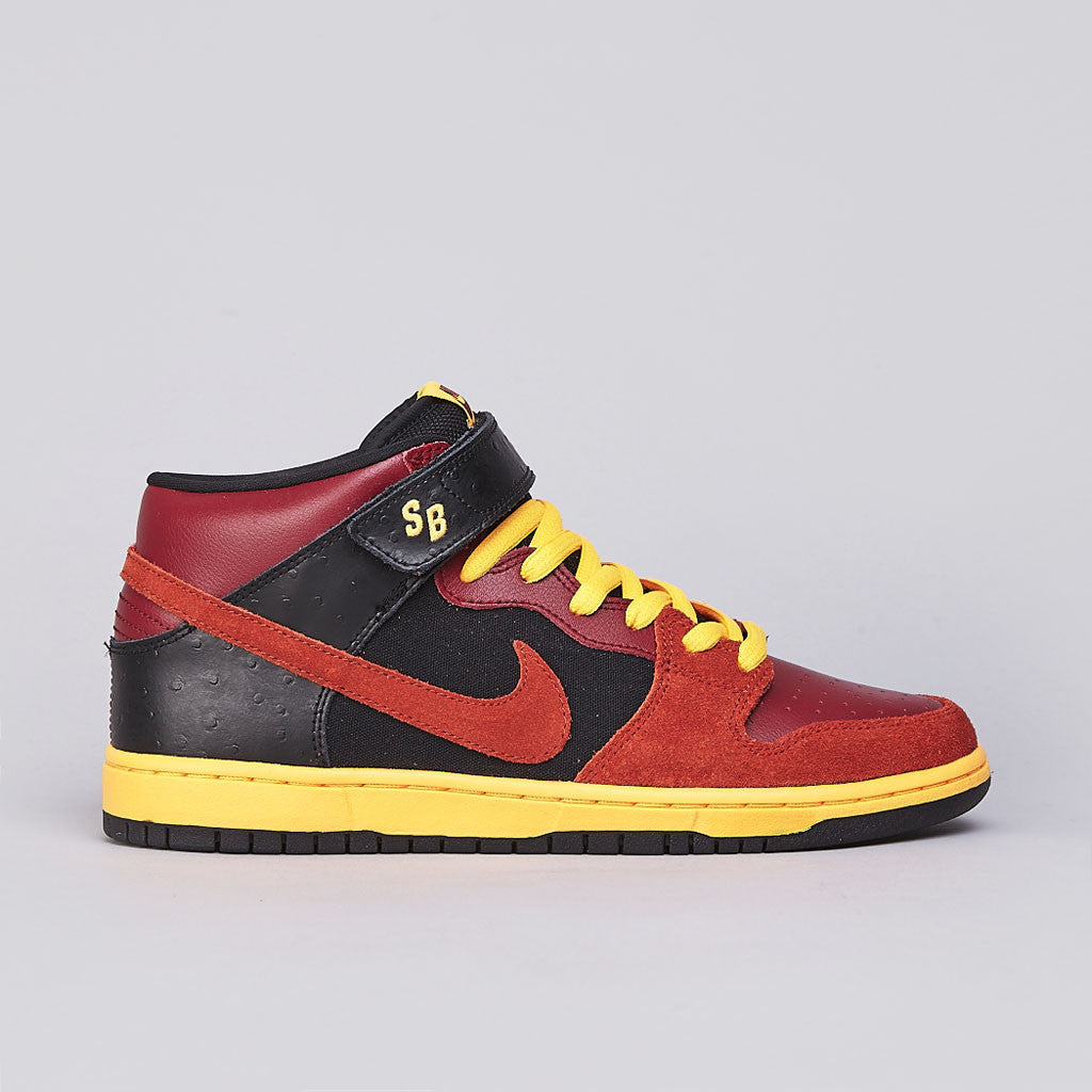 Nike SB Dunk Mid Pro Team Red / Rugged Orange
