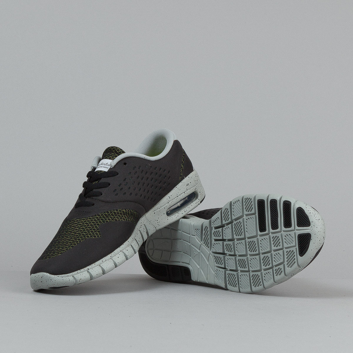 Nike SB Eric Koston 2 Max Black / White - Base Grey - Venom Green