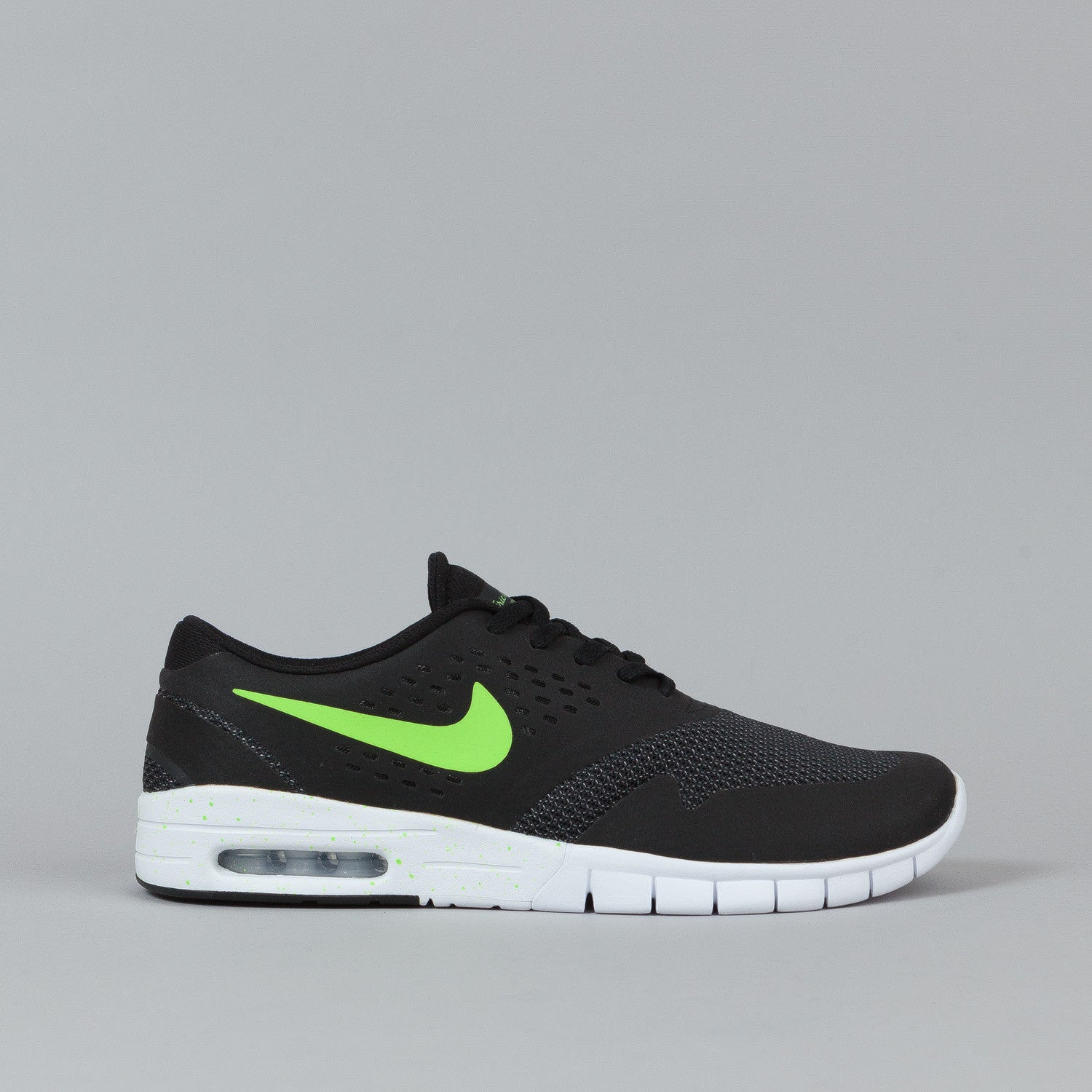 Nike SB Eric Koston 2 Max Shoes Black / Flash Lime