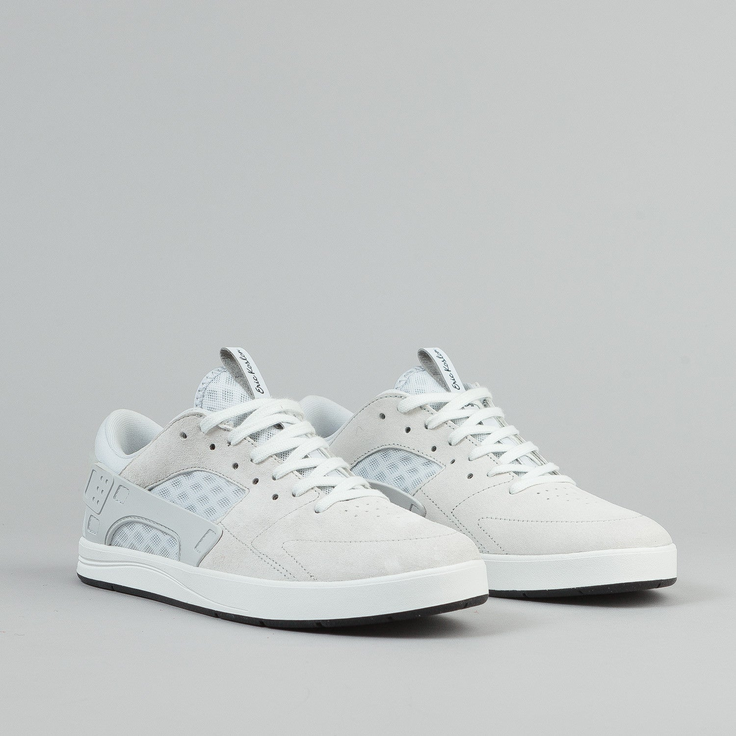 Nike SB Eric Koston Huarache Shoes - Summit White / Pure Platinum / Black