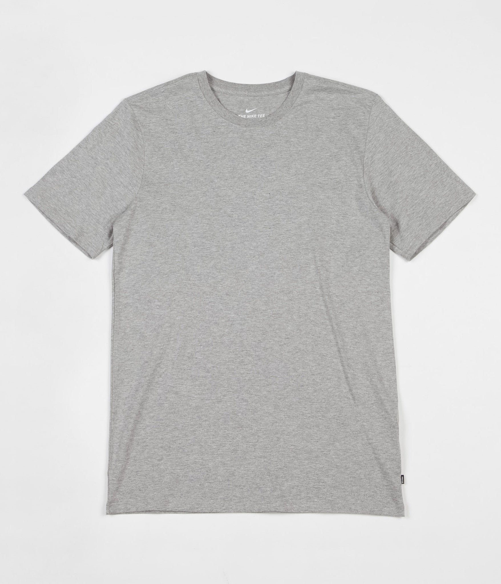 Nike SB Essential T-Shirt - Dark Grey Heather / Dark Grey Heather