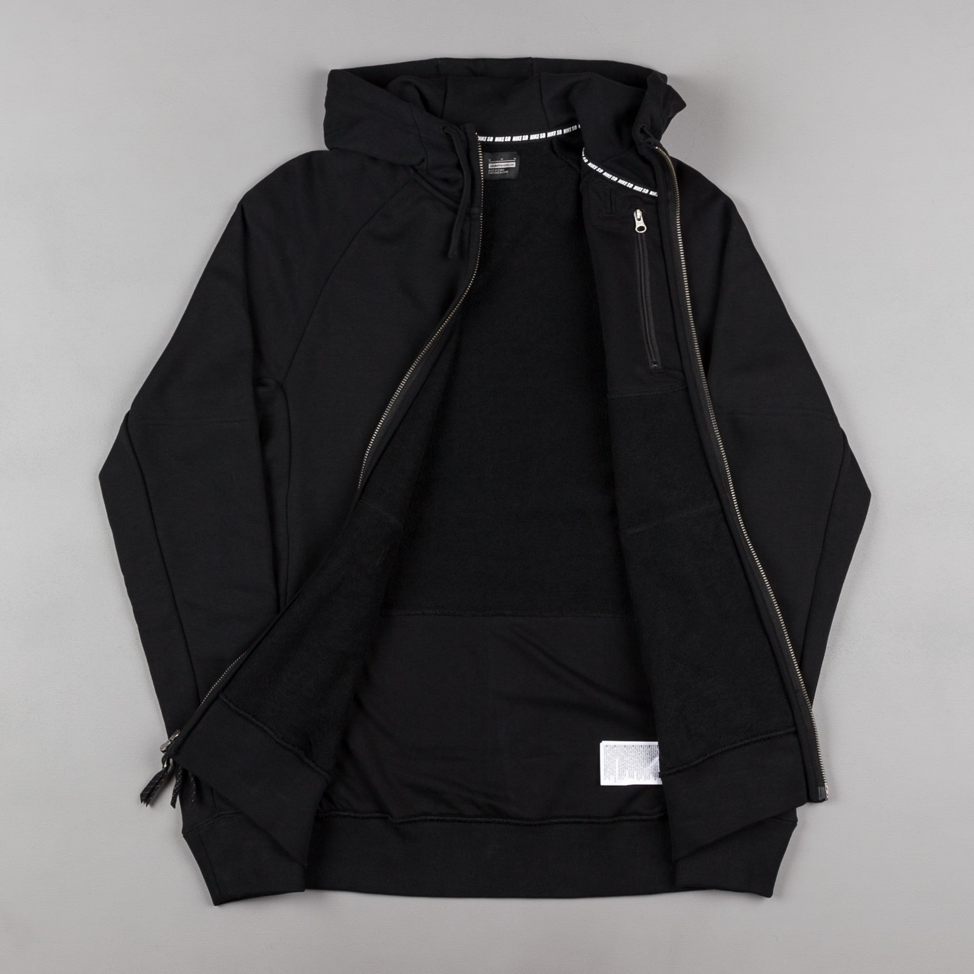 Nike SB Everett Hooded Sweatshirt - Black / White