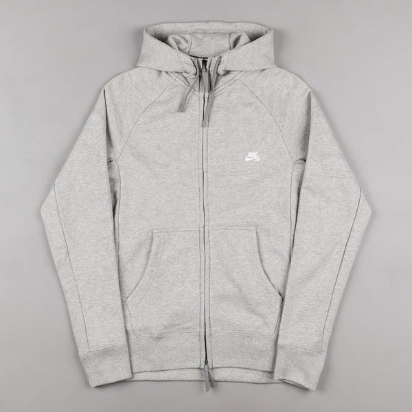 Nike SB Everett Hooded Sweatshirt - Dark Grey / Heather