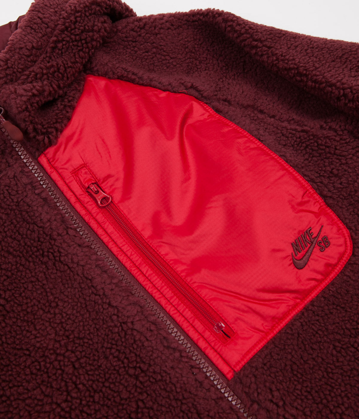 Nike SB Everett Hoodie - Dark Team Red / Gym Red / Dark Team Red