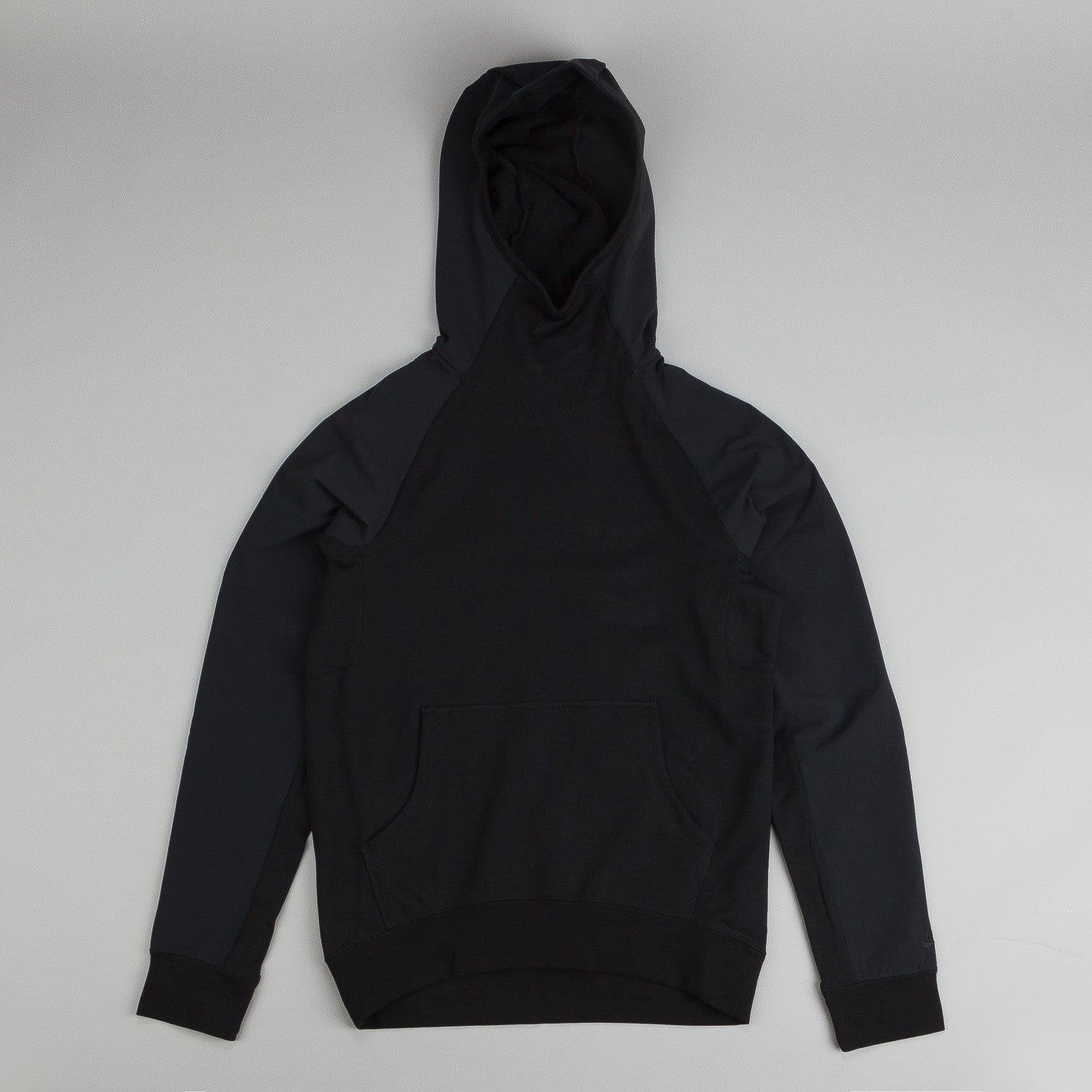 Nike SB Everett Overlay Hooded Sweatshirt Black / Black