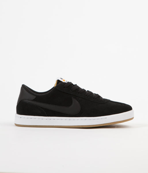 Nike SB FC Classic Shoes - Black / Black - Black - Vivid Orange