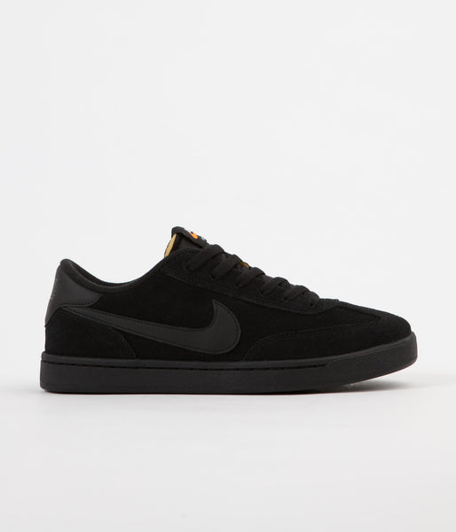 Nike SB FC Classic Shoes - Black / Black - White - Vivid Orange