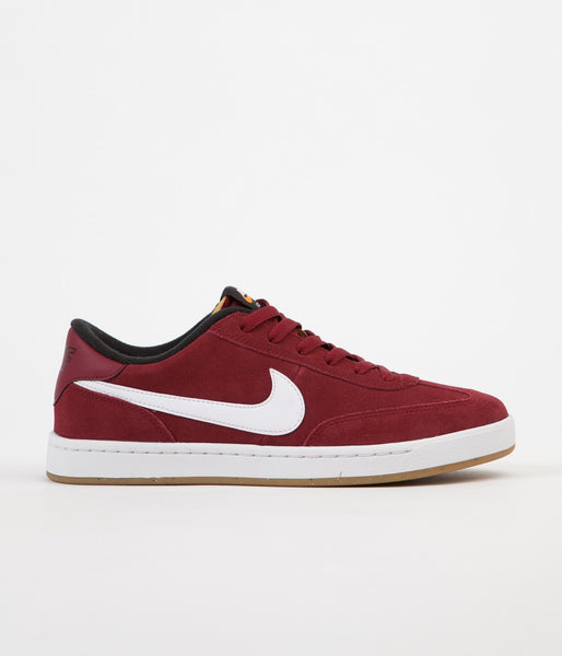 Nike SB FC Classic Shoes - Team Red / White - Black - Vivid Orange