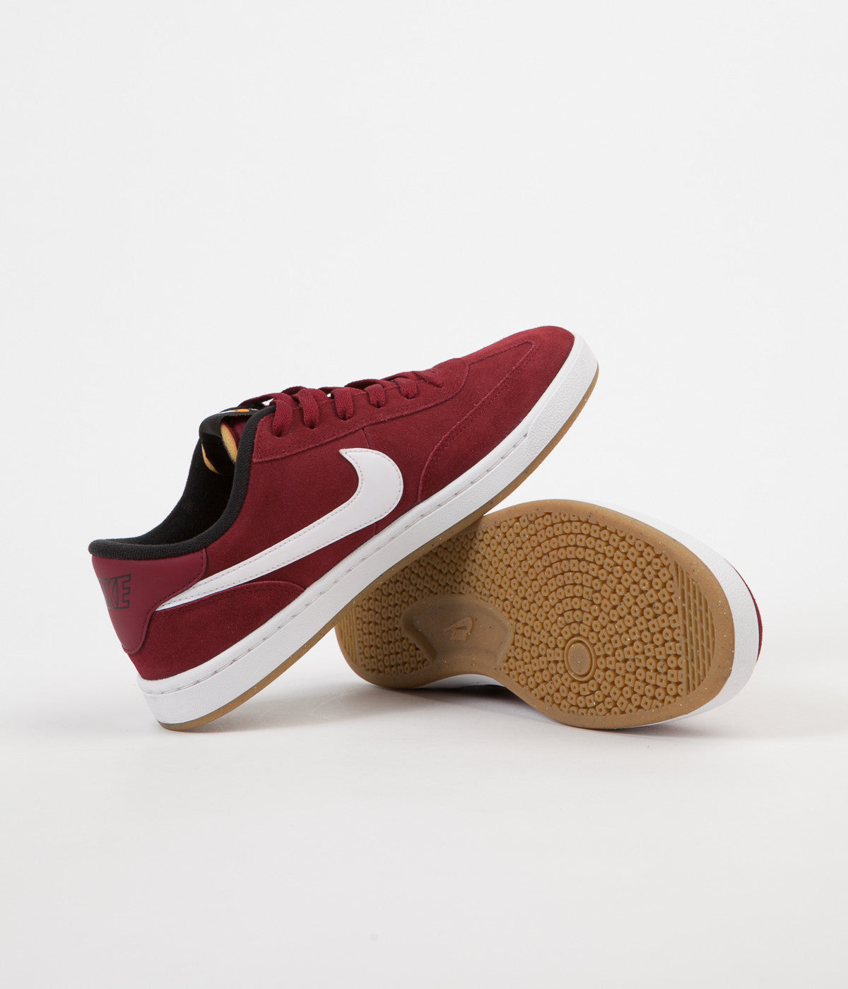 607f80ba195300 ... Nike SB FC Classic Shoes - Team Red   White - Black - Vivid Orange ...