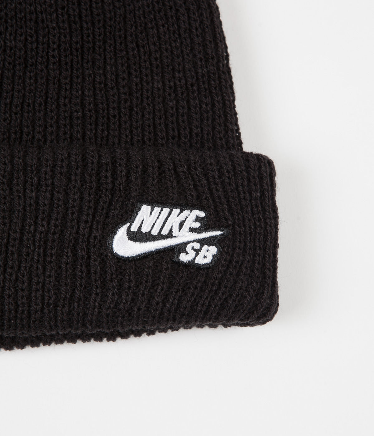 Nike SB Fisherman Beanie - Black / White