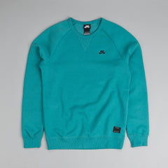 Nike SB Foundation Crew Fleece Catalina / Black