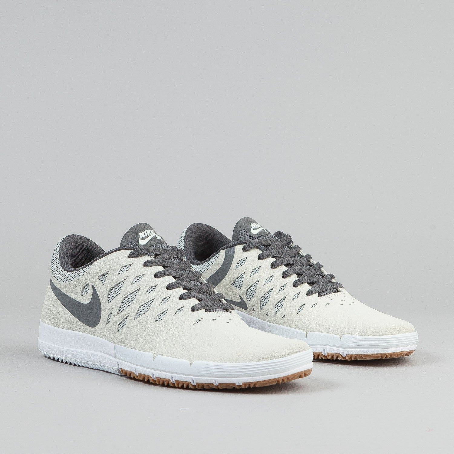Nike SB Free Shoes - Sail / Cool Grey / White