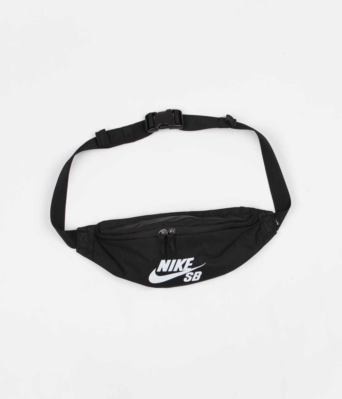 Nike SB Heritage Hip Bag - Black / Black / White