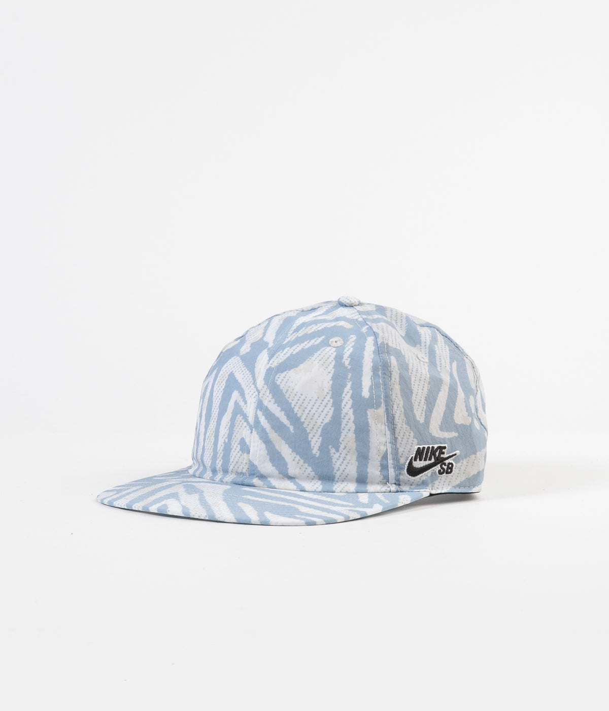 Nike SB Heritage86 All Over Print Cap - White / Black