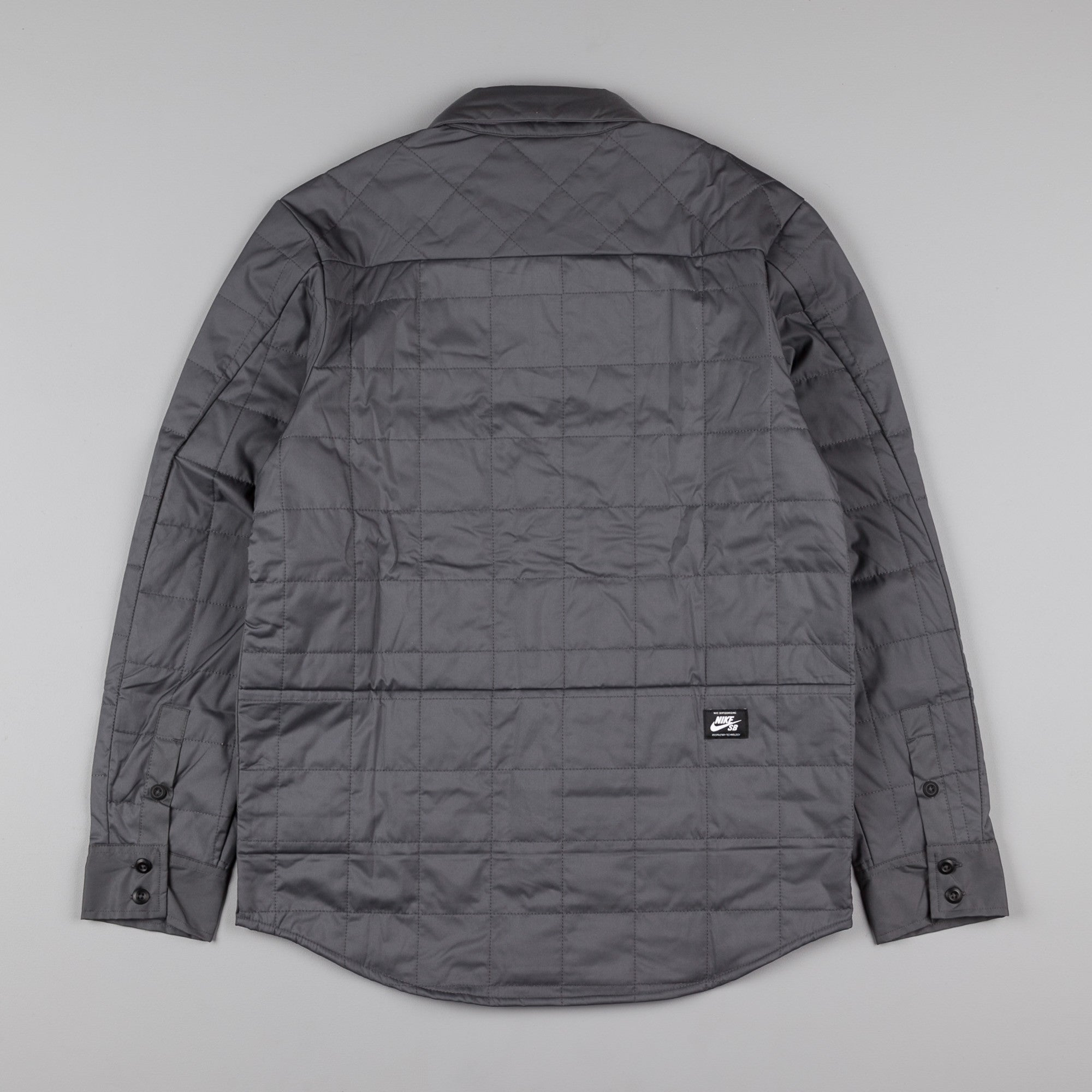 Nike SB Holgate Winterized Shirt - Dark Grey