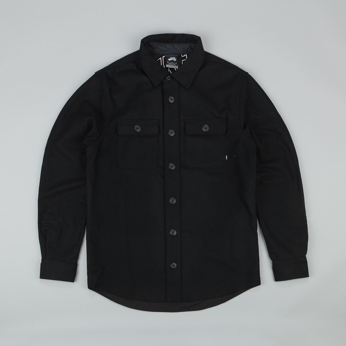 Nike SB Holgate Wool Long Sleeve Shirt