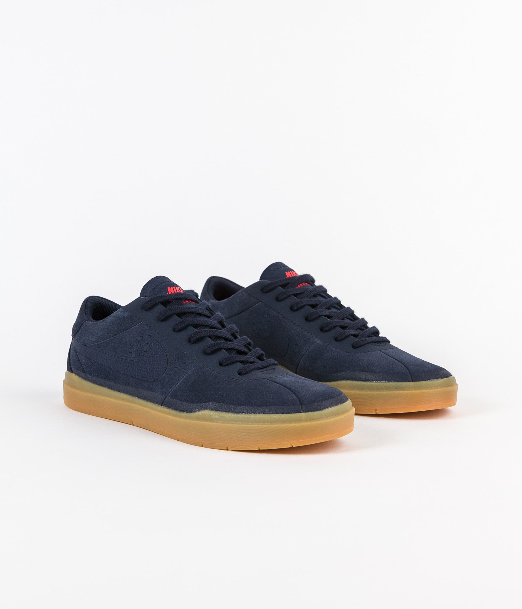 Nike SB Bruin Hyperfeel Shoes - Obsidian / Obsidian - Gum Light Brown