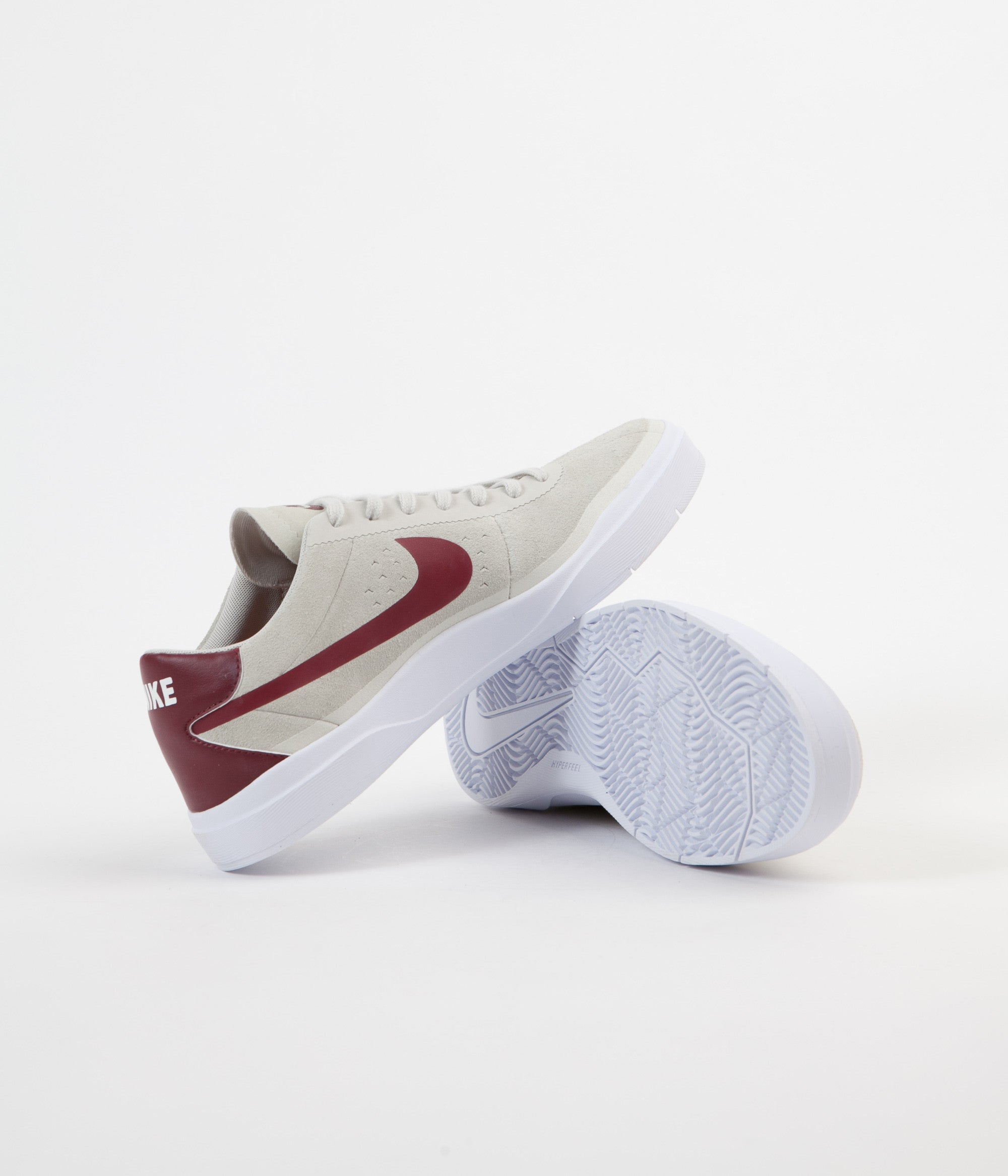 Nike SB Hyperfeel Bruin Shoes - Summit White / Team Red - White - White